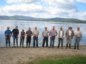 Casting tuition on Lough Derg