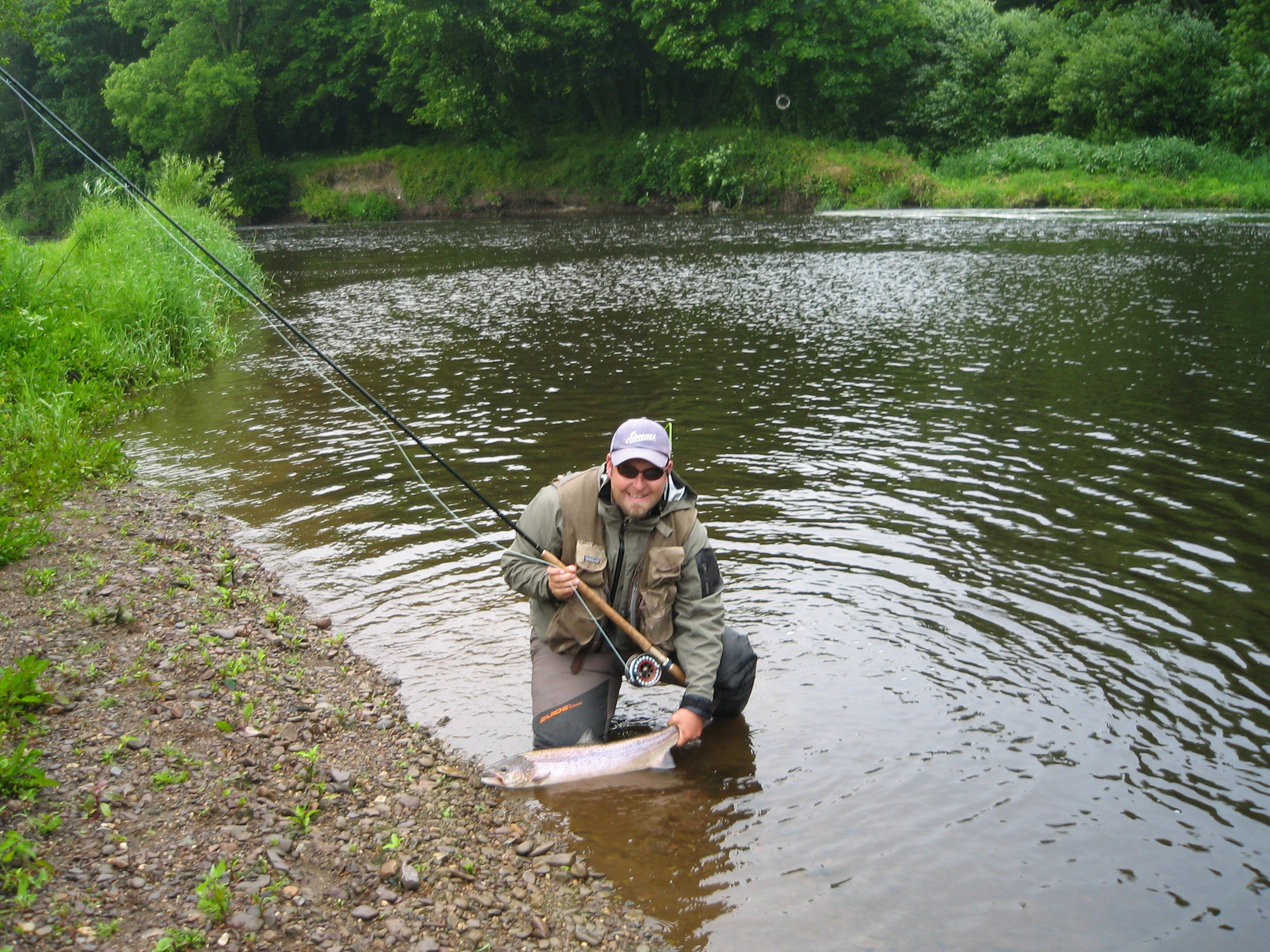 River drowes salmon fly fishing weekend course game for River fishing games