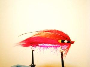 Red salmon snake