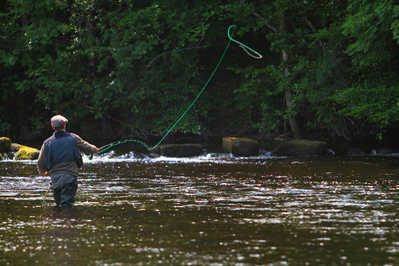 River drowes salmon fly fishing weekend course game for Fly fishing games